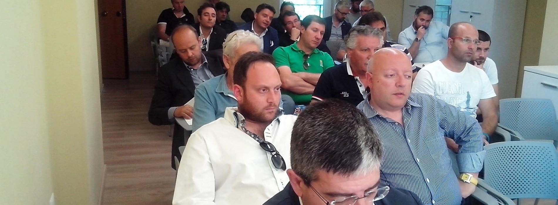 Impianti, incontro al CRB con il Credito Sportivo