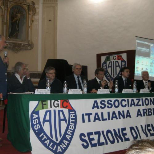 Arbitri, il presidente Nicchi ha incontrato la sezione di Venosa