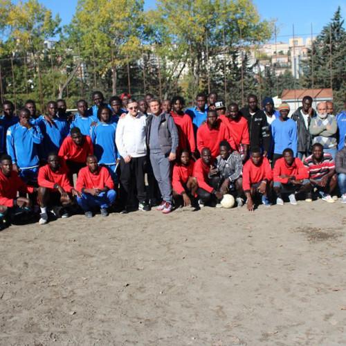 Il Presidente Rinaldi incontra i ragazzi della Global Service