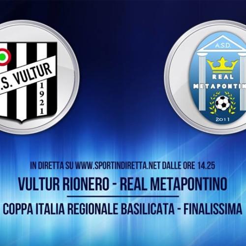 Finale Coppa Italia Eccellenza: tutto pronto a Picerno con diretta streaming