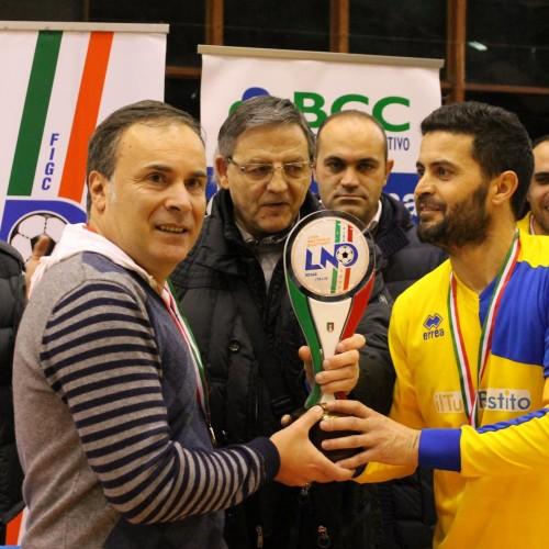 Futsal, il Comprensorio Medio Basento vince la Coppa Italia Regionale Maschile