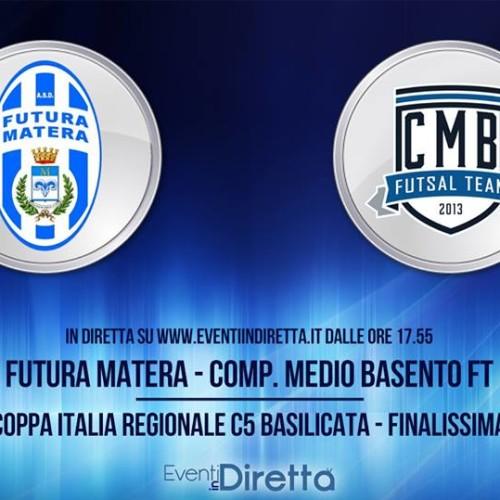 "Coppa Italia Regionale C5: diretta streaming dal ""Pala Pergola"""