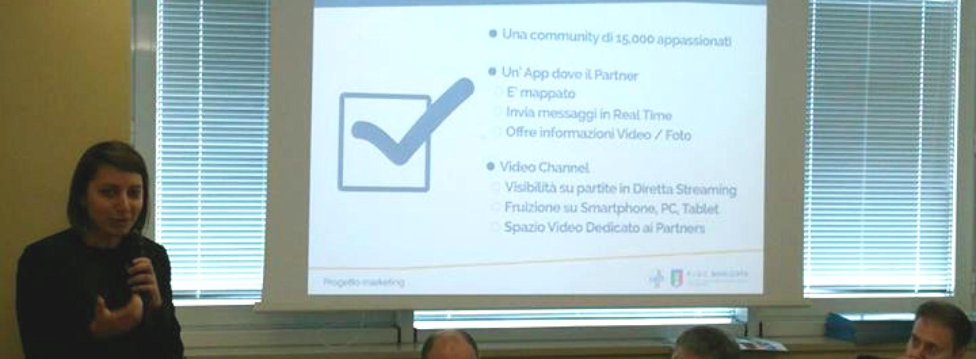 Presentazione del progetto marketing agli imprenditori