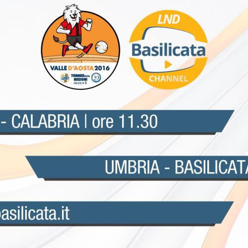 LND Basilicata Channel: oggi le dirette degli Allievi e della Juniores