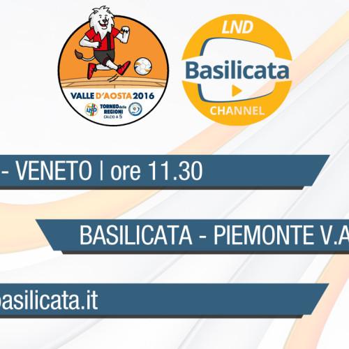 Diretta LND Basilicata Channel: in streaming le gare degli Allievi e della Rappresentativa Femminile