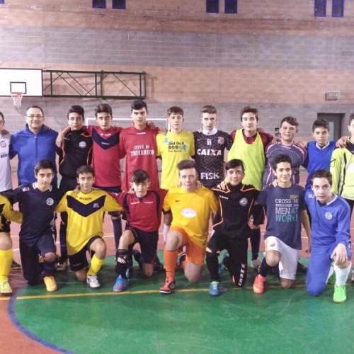 Allievi e Giovanissimi C5 in amichevole a Sammichele di Bari