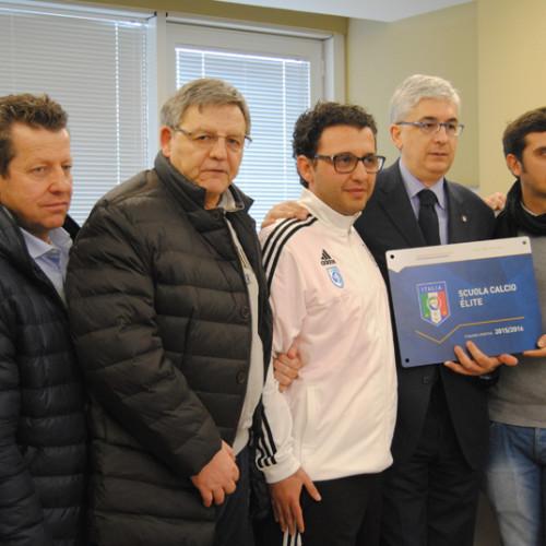 Scuola Calcio Elite: l'Invicta Matera premiata dal Presidente SGS Vito Tisci
