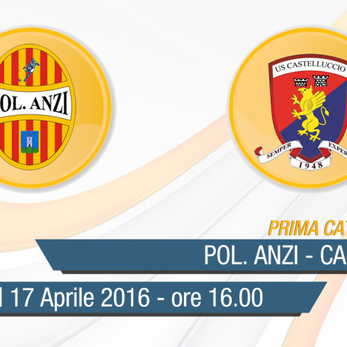 Prima Categoria: Anzi-Castelluccio in diretta streaming