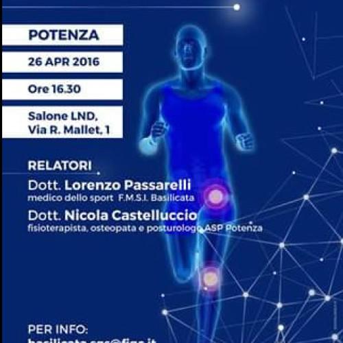 La postura nello sportivo: convegno il 26 aprile a Potenza