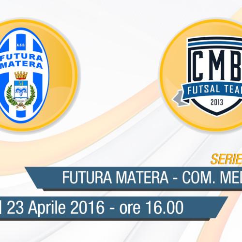 Serie C/1 Calcio a 5: Futura Matera-Com. Medio Basento in diretta streaming