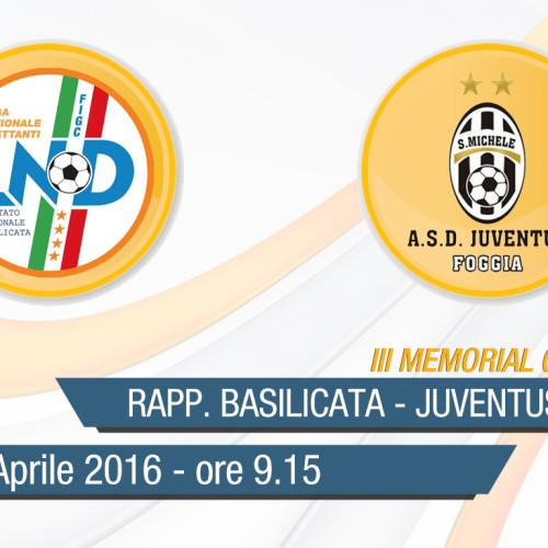III Memorial Giovanni Palo: diretta streaming della gara Rapp. Giovanissimi-Juventus S.Michele