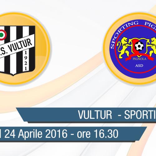 Eccellenza: Vultur Rionero-Sporting Pignola in diretta streaming
