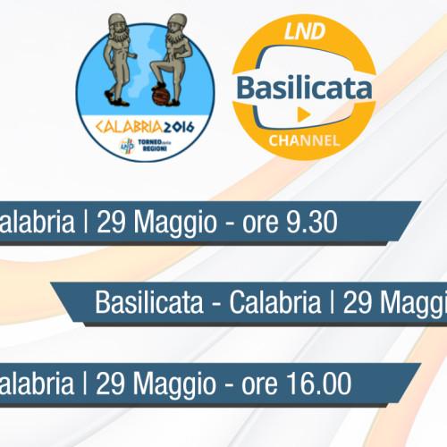 LND Basilicata Channel: in diretta streaming le gare di Giovanissimi, Allievi e Juniores