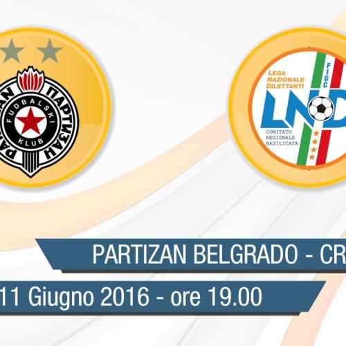"Torneo ""G.Scirea"": Partizan Belgrado-Rapp. Allievi in diretta streaming"
