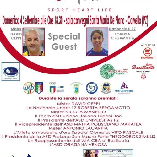 """Premio """"Futsal Passion"""" a Calvello"""