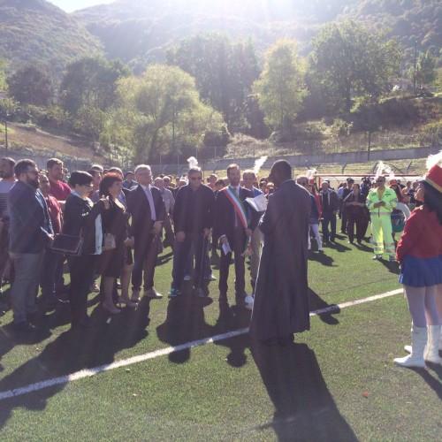 Inaugurato il campo di gioco di Balvano