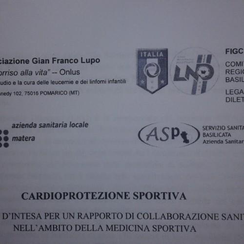"""Martedì 15 novembre, conferenza stampa di presentazione del progetto """"Cardioprotezione sportiva"""" e firma del protocollo d'intesa"""