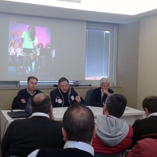 """CRB, presentato il progetto """"Il calcio in 3 C"""".  Assemblea elettiva ordinaria il 15 novembre. Piero Rinaldi si ricandida alla presidenza"""
