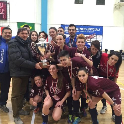 Al Futsal Rionero la coppa Italia femminile di calcio a 5 regionale