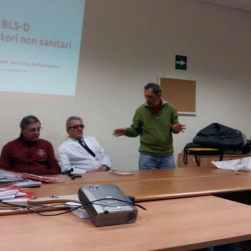 Iniziato il progetto di cardioprotezione col primo corso BLS-D a Matera