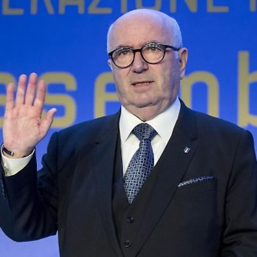 Elezione Tavecchio al vertice della Figc, la soddisfazione di Rinaldi