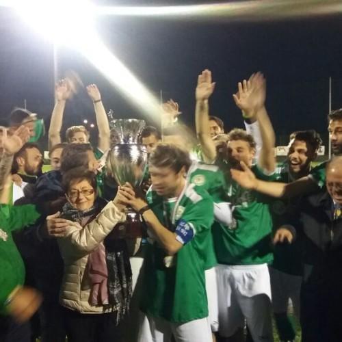 """Il Rotonda vince  5-4 dcr la coppa Italia Promozione Trofeo """"Mauro Tartaglia"""""""