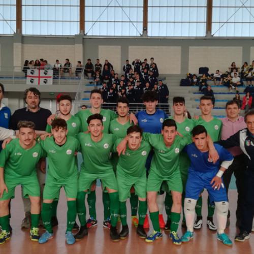 TdR C5, Juniores: grande esordio dei lucani contro la Sardegna. 3-1 il finale.