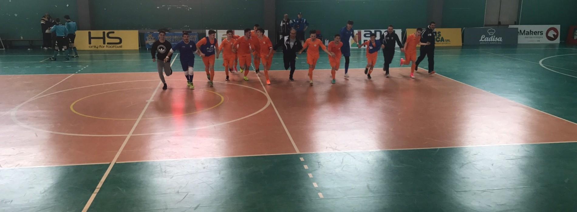 TdR C5, Allievi: la Basilicata vola ai quarti di finale. Battuta la Sardegna 5-1.