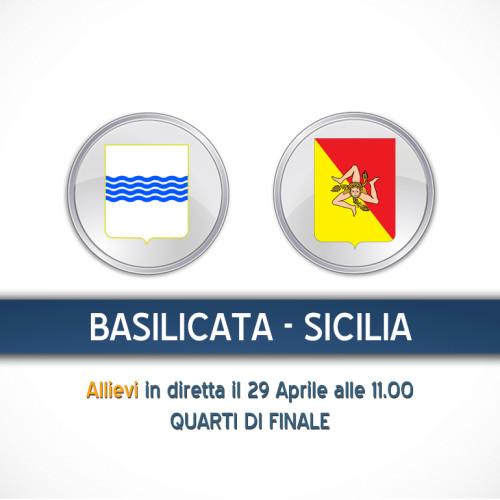 TdR C5, quarti di finale: Basilicata-Sicilia in diretta streaming