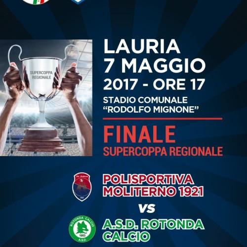 Il 7 maggio, a Lauria, si disputa la Supercoppa regionale