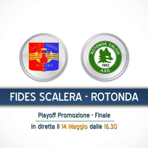 Fides Scalera-Rotonda calcio in diretta streaming su Lnd Basilicata Channel