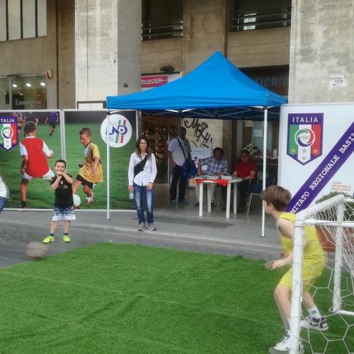 Festa dello sport a Potenza. Presente anche lo stand del CRB