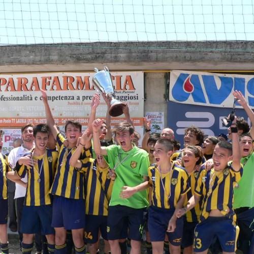 La Juve Stabia vince la coppa Pollino. Terza la Rapp.va Giovanissimi del CRB