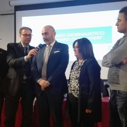 Un successo la Festa del Calcio Lucano. Ad Angelo Oliveto il premio giornalistico dedicato a Carpentieri