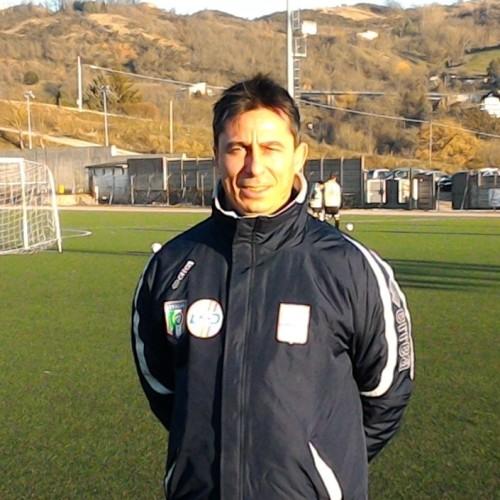 Antonio Palo allenatore in seconda del Pisa Sporting Club.  La soddisfazione del CRB