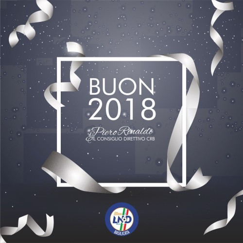 Buon 2018, gli auguri del presidente del CRB Piero Rinaldi
