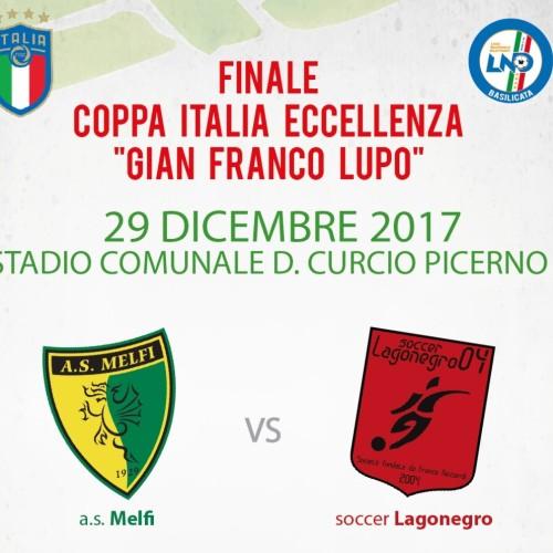 A Picerno la finale di coppa Italia regionale di Eccellenza