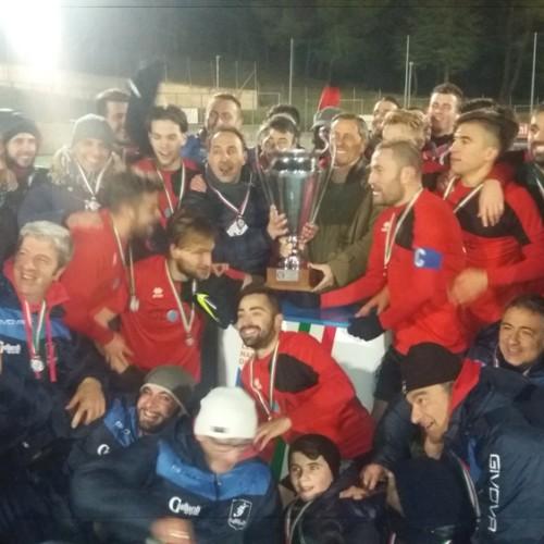 La Soccer Lagonegro vince la coppa Italia regionale di Eccellenza. Battuto il Melfi ai rigori