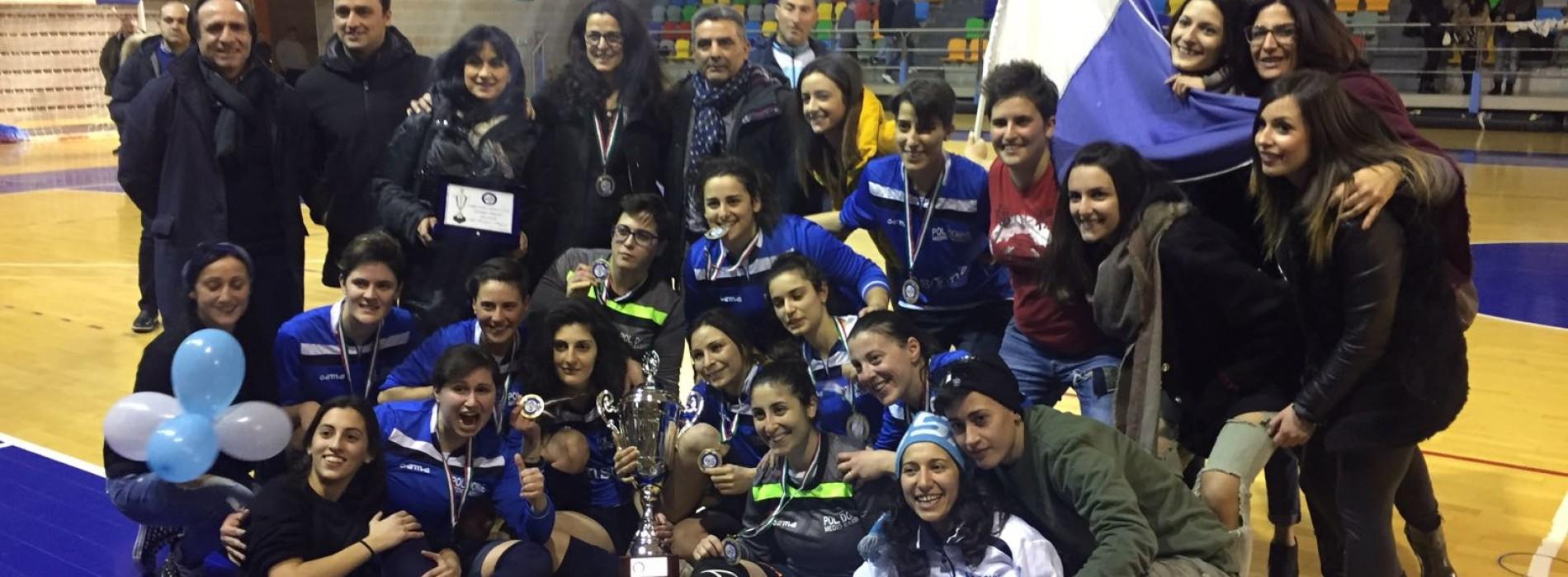 Futsal C Femminile, la coppa Italia regionale va alle Donne Medio Basento