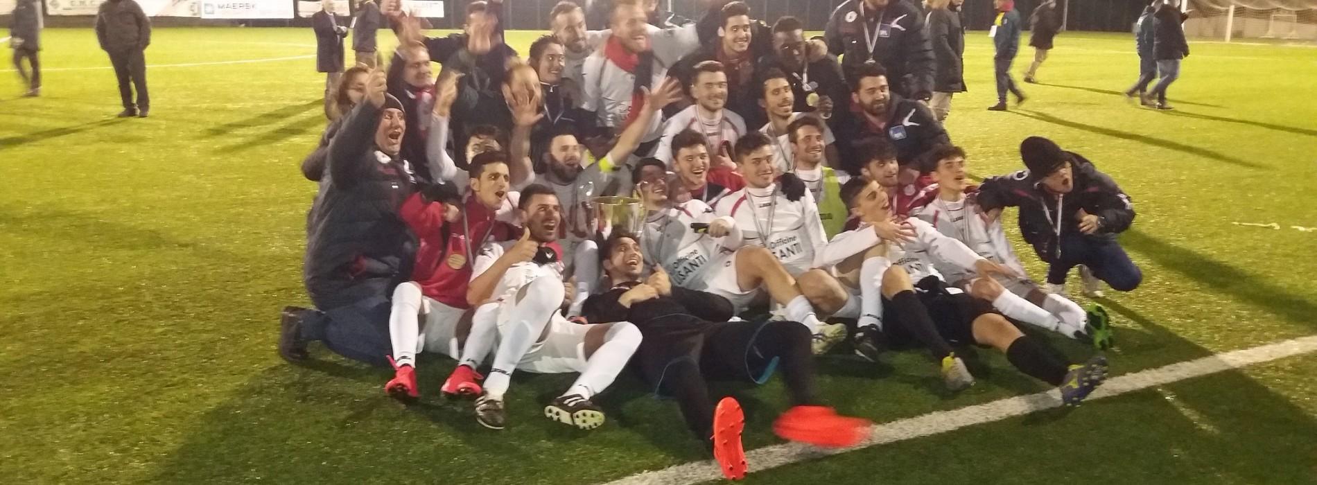 """Il Ferrandina vince la coppa Italia regionale di Promozione """"M. Tartaglia"""""""