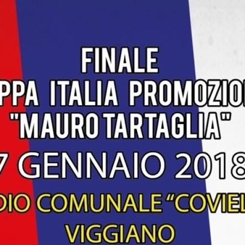 """A Viggiano la finale di coppa Italia regionale di Promozione """"M. Tartaglia"""""""