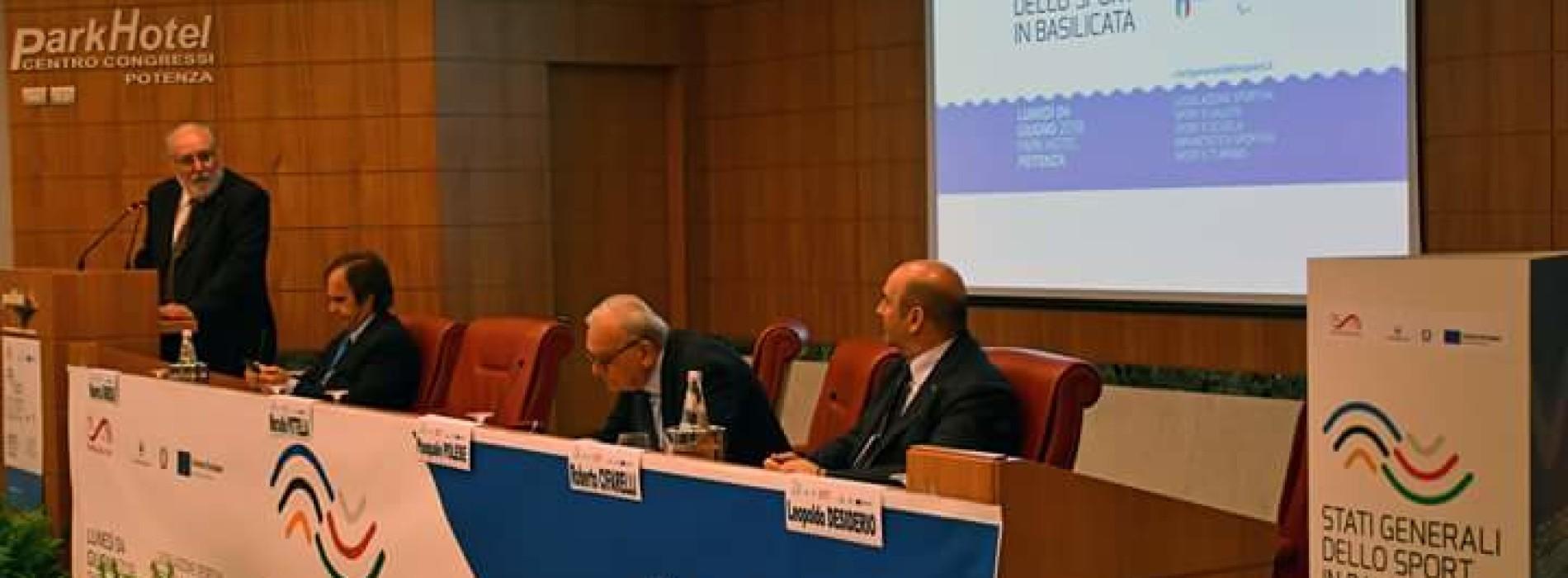 Tenuti a Potenza gli Stati Generali dello Sport in Basilicata