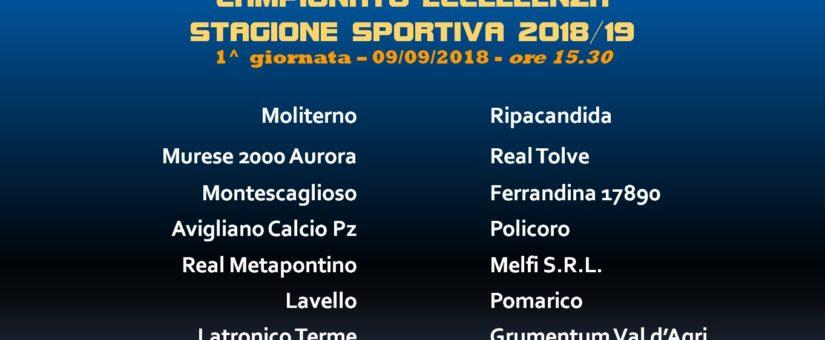 Calendario Eccellenza.Eccellenza 2018 19 Presentato Il Calendario Del Campionato
