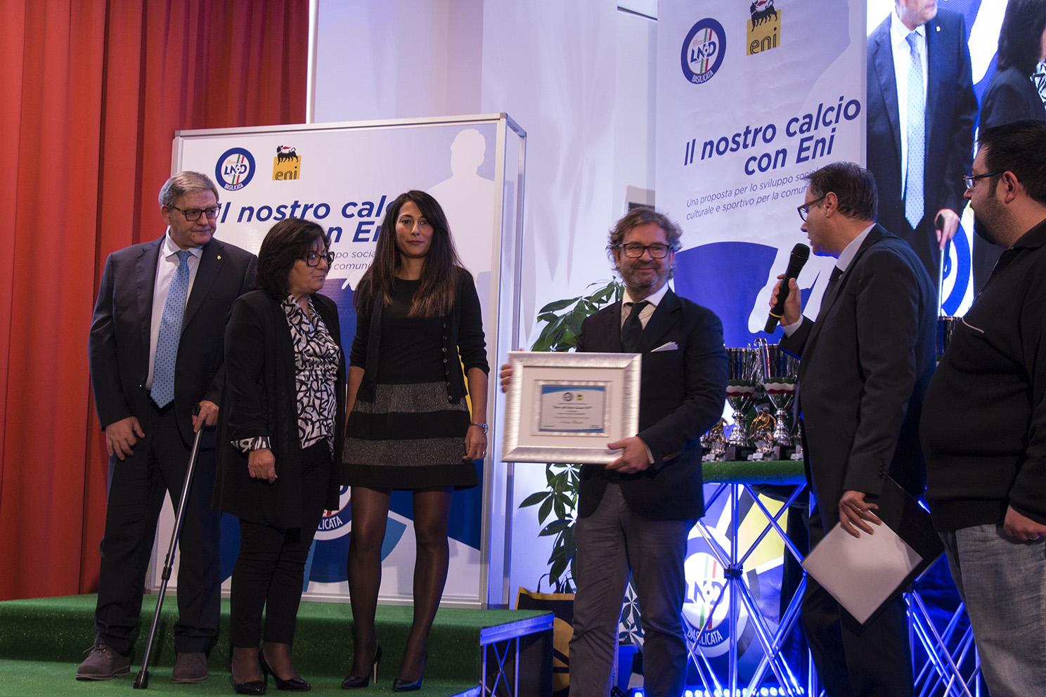 Festa del calcio lucano, l'elenco dei premiati