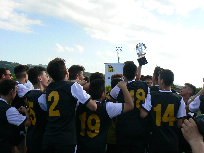 Coppa Giovanissimi. L'Hellas Vulture alza il trofeo