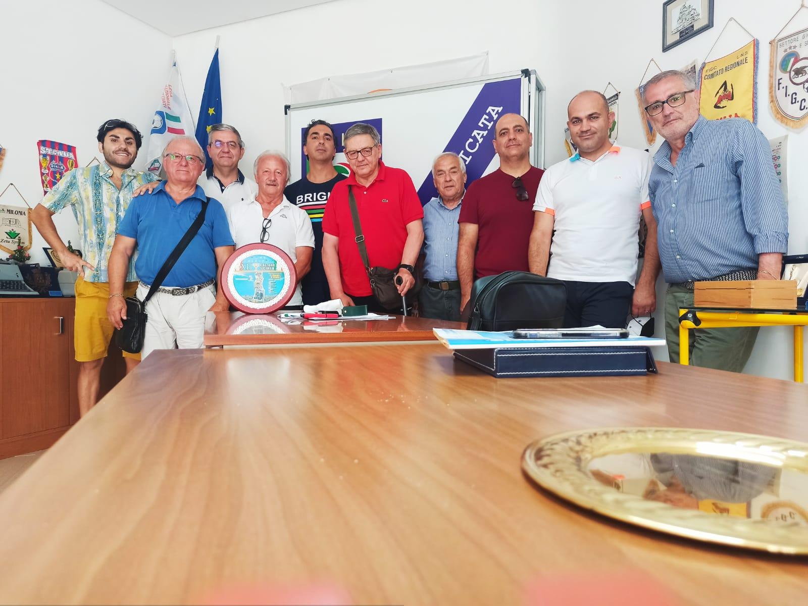 Delegazione provinciale di Matera, riunione operativa